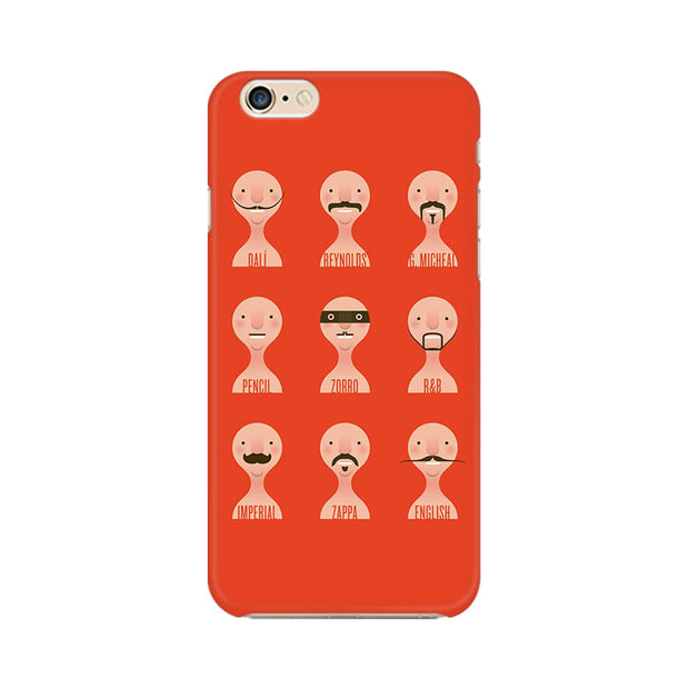 Apple iPhone 6 Plus Types Of Beard Phone Cover & Case