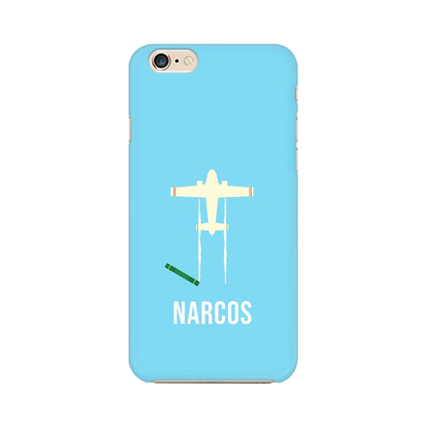 Apple iPhone 6 Plus Narcos TV Series  Minimal Fan Art Phone Cover & Case