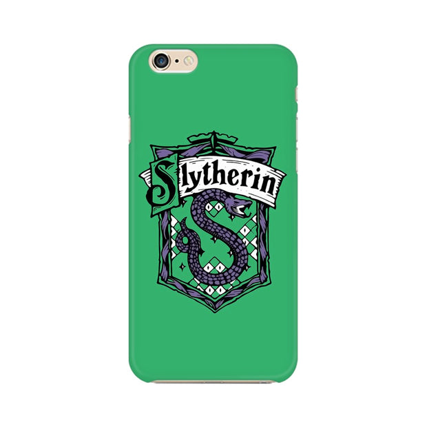 Apple iPhone 6 Plus Slytherin House Crest Harry Potter Phone Cover & Case