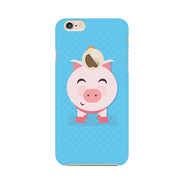 Apple iPhone 6 with Apple hole Pig Money Phone Cover & Case