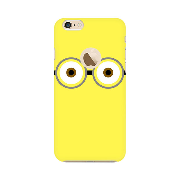 Apple iPhone 6 with Apple hole Minion Big Eyes Phone Cover & Case