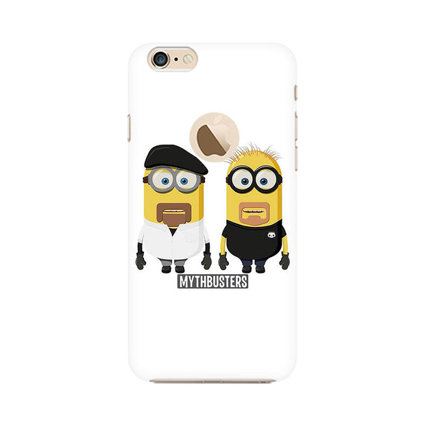 Apple iPhone 6 with Apple hole Minion Mythbusters Phone Cover & Case