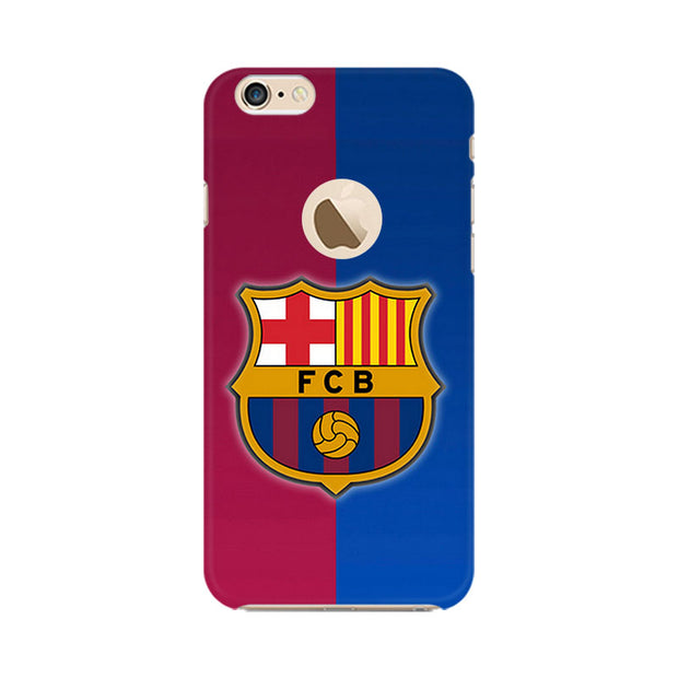 Apple iPhone 6 with Apple hole Fcb Logo Phone Cover & Case