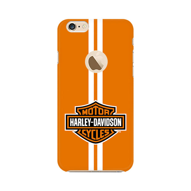 Apple iPhone 6 with Apple hole Harley Davidson Phone Cover & Case