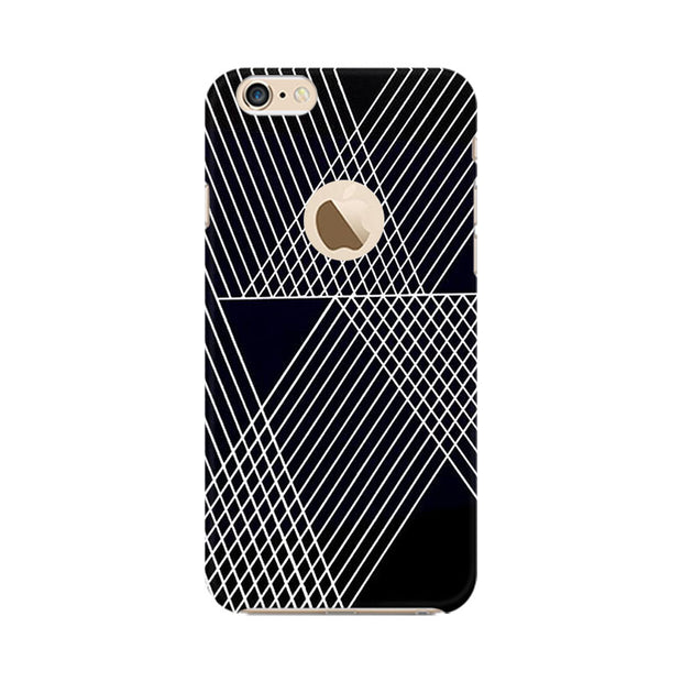 Apple iPhone 6 with Apple hole Reflecting Lines Phone Cover & Case