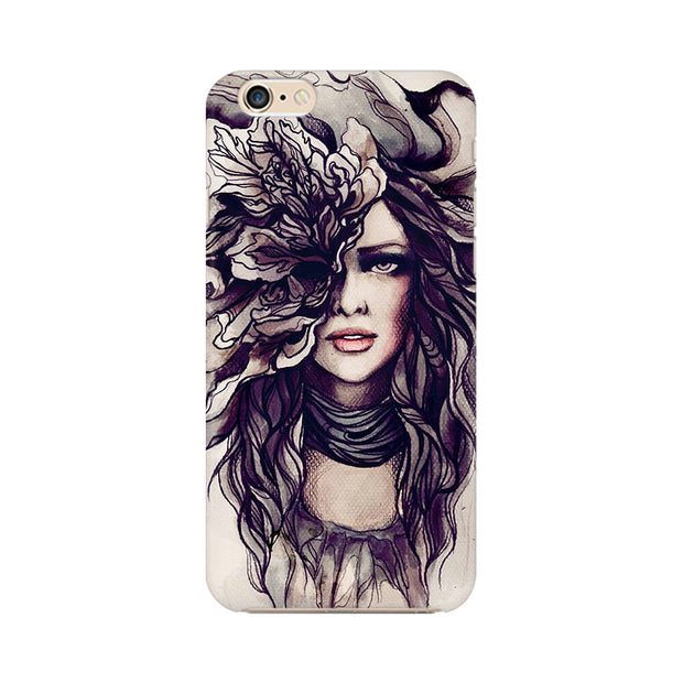 Apple iPhone 6s Crazy Hairy Girl Phone Cover & Case