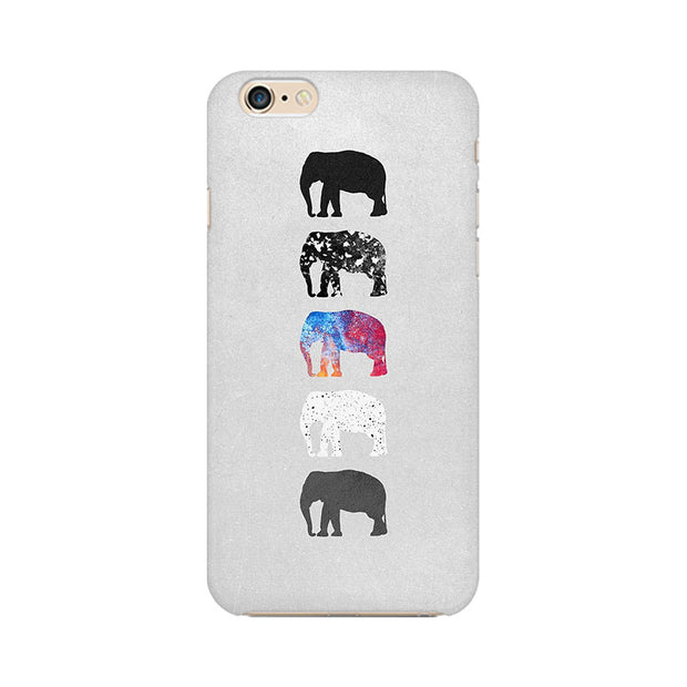 Apple iPhone 6s Five Shades Of Elephants Phone Cover & Case