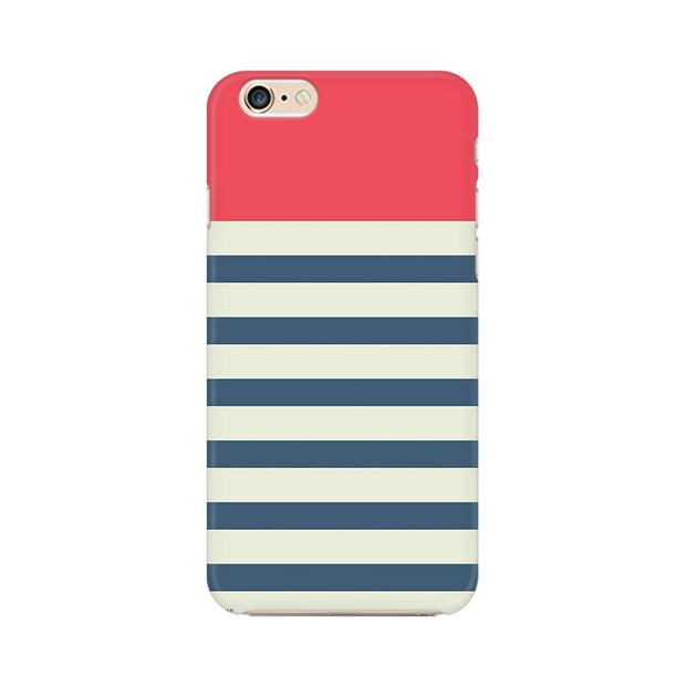 Apple iPhone 6s Stripes Pink Phone Cover & Case
