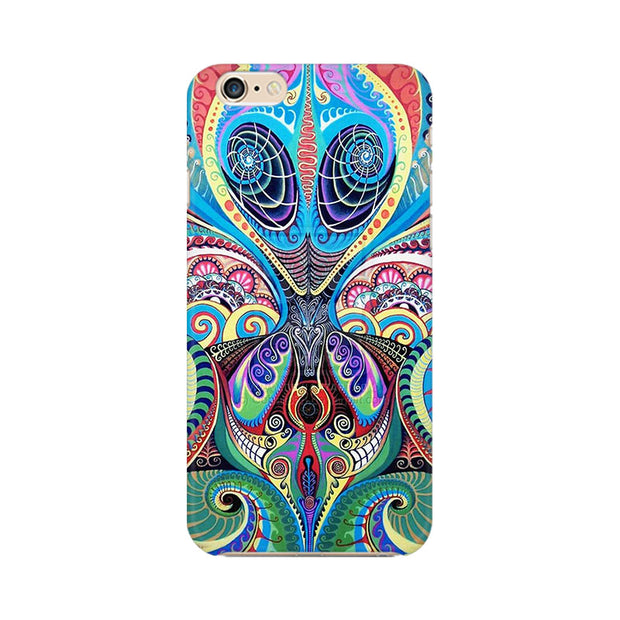 Apple iPhone 6s Plus Psychedelic Alien Phone Cover & Case