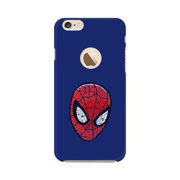Apple iPhone 6s with Apple Hole Spider Man Graphic Fan Art Phone Cover & Case