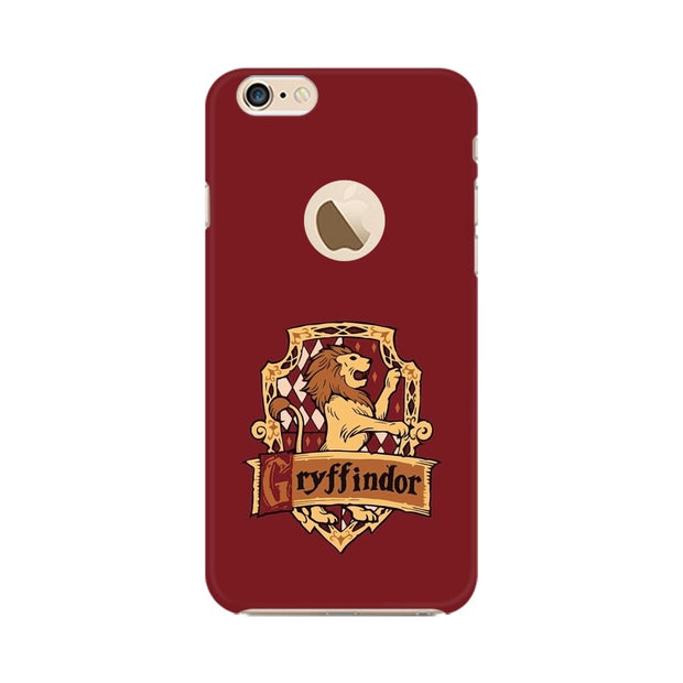Apple iPhone 6s with Apple Hole Gryffindor House Crest Harry Potter Phone Cover & Case