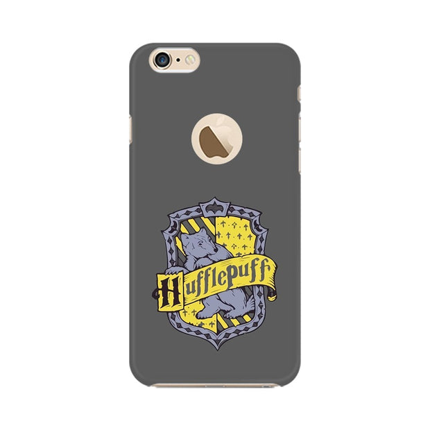Apple iPhone 6s with Apple Hole Hufflepuff House Crest Harry Potter Phone Cover & Case