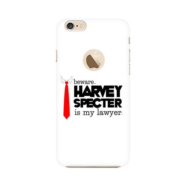 Apple iPhone 6s with Apple Hole Harvey Spectre Is My Lawyer Suits Phone Cover & Case