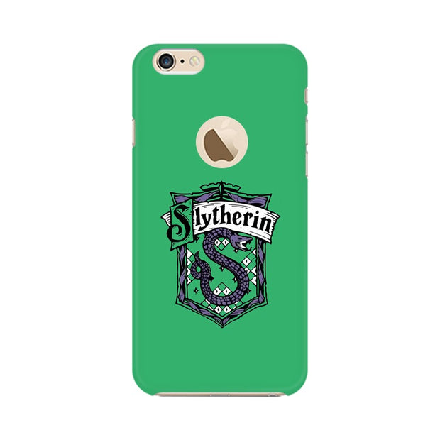 Apple iPhone 6s with Apple Hole Slytherin House Crest Harry Potter Phone Cover & Case