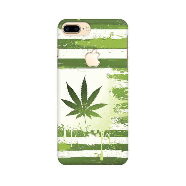 Apple iPhone 7 Plus with Apple Cut Weed Flag  Phone Cover & Case