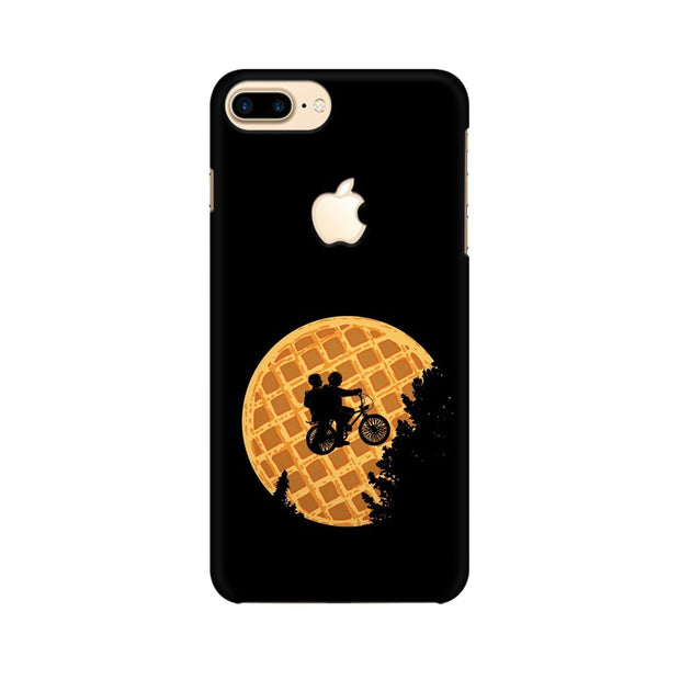 Apple iPhone 7 Plus with Apple Cut Stranger Things Pancake Minimal Phone Cover & Case