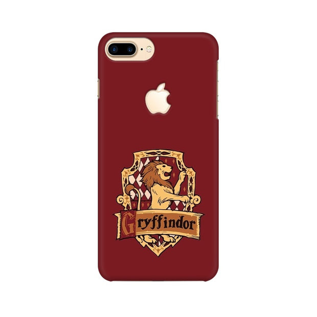 Apple iPhone 7 Plus with Apple Cut Gryffindor House Crest Harry Potter Phone Cover & Case