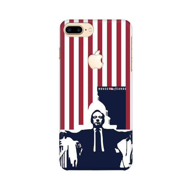 Apple iPhone 7 Plus with Apple Cut House Of Cards Underwood On Chair Phone Cover & Case