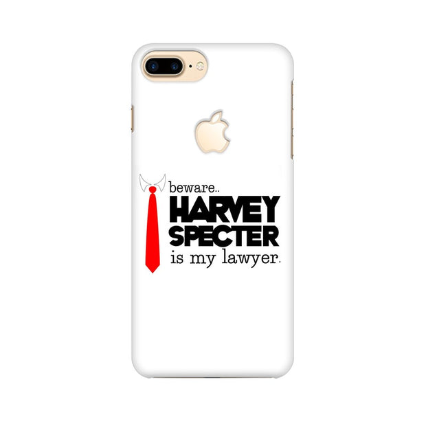 Apple iPhone 7 Plus with Apple Cut Harvey Spectre Is My Lawyer Suits Phone Cover & Case