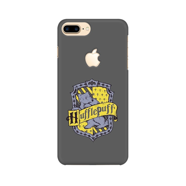 Apple iPhone 7 Plus with Apple Cut Hufflepuff House Crest Harry Potter Phone Cover & Case