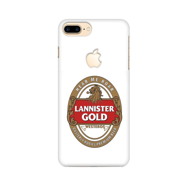 Apple iPhone 7 Plus with Apple Cut Lannister Gold Game Of Thrones Cool Phone Cover & Case