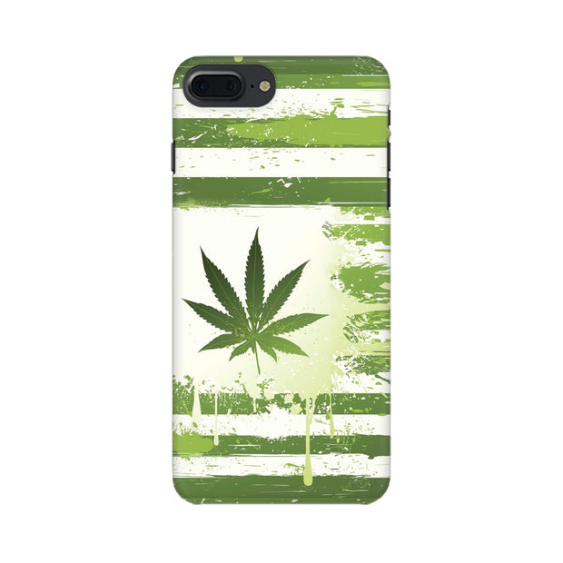 Apple iPhone 7 Plus Weed Flag  Phone Cover & Case