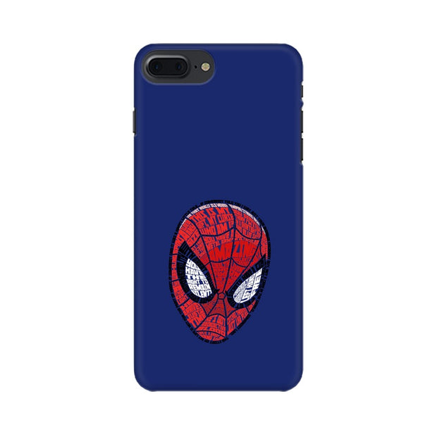Apple iPhone 7 Plus Spider Man Graphic Fan Art Phone Cover & Case
