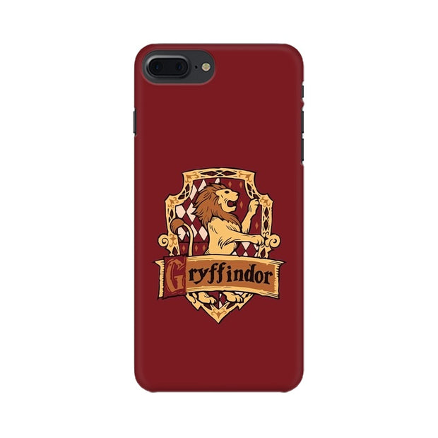 Apple iPhone 7 Plus Gryffindor House Crest Harry Potter Phone Cover & Case