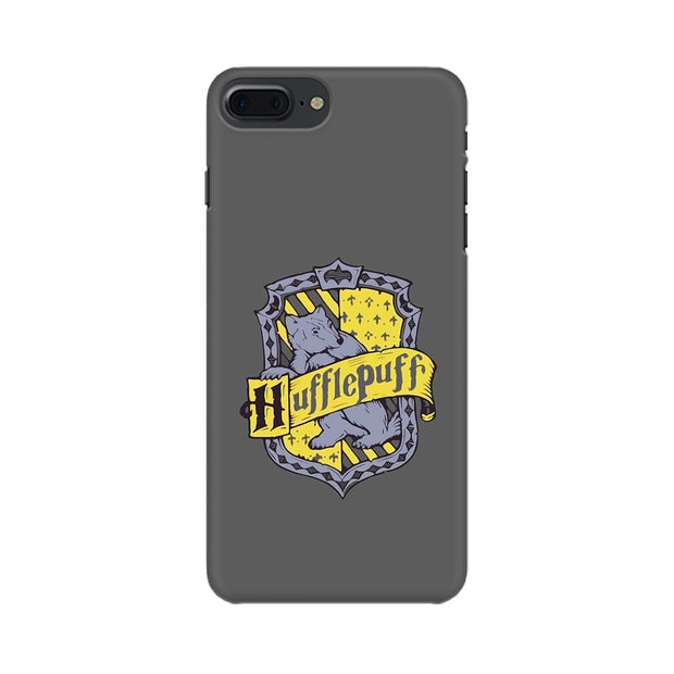 Apple iPhone 7 Plus Hufflepuff House Crest Harry Potter Phone Cover & Case