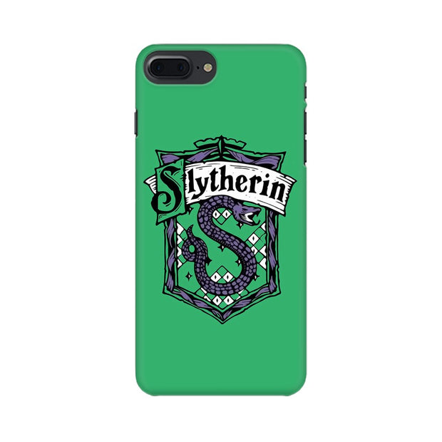 Apple iPhone 7 Plus Slytherin House Crest Harry Potter Phone Cover & Case