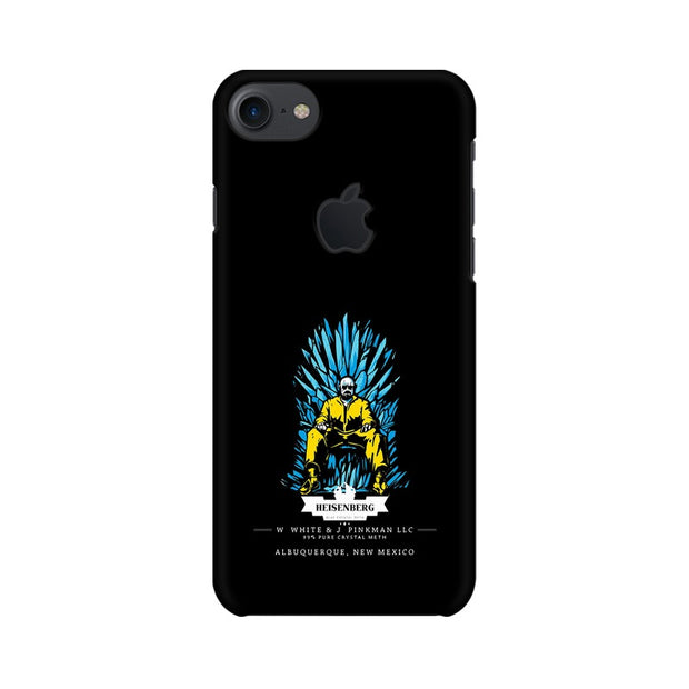Apple iPhone 7 with Apple Cut Walter White on Iron Throne Phone Cover & Case