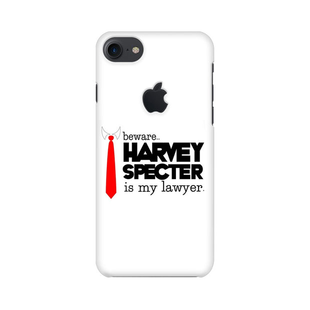 Apple iPhone 7 with Apple Cut Harvey Spectre Is My Lawyer Suits Phone Cover & Case