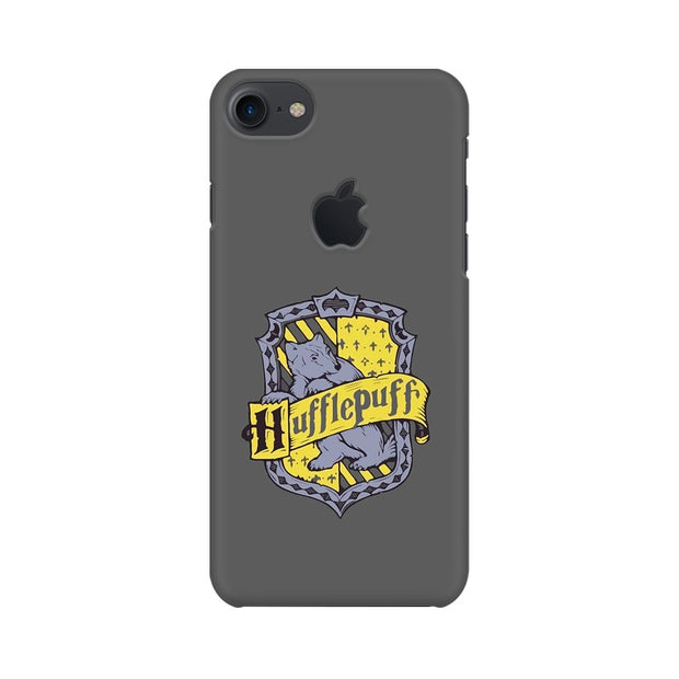 Apple iPhone 7 with Apple Cut Hufflepuff House Crest Harry Potter Phone Cover & Case