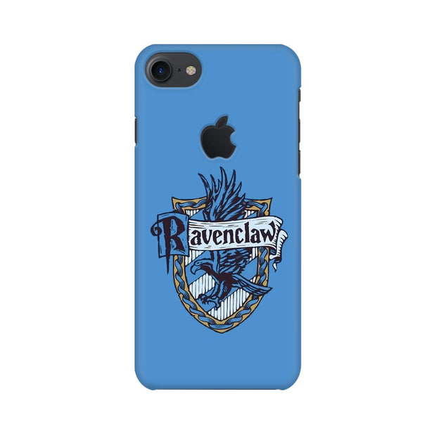 Apple iPhone 7 with Apple Cut Ravenclaw House Crest Harry Potter Phone Cover & Case