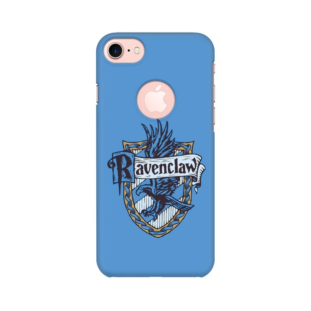 Apple iPhone 7 with Round Cut Ravenclaw House Crest Harry Potter Phone Cover & Case
