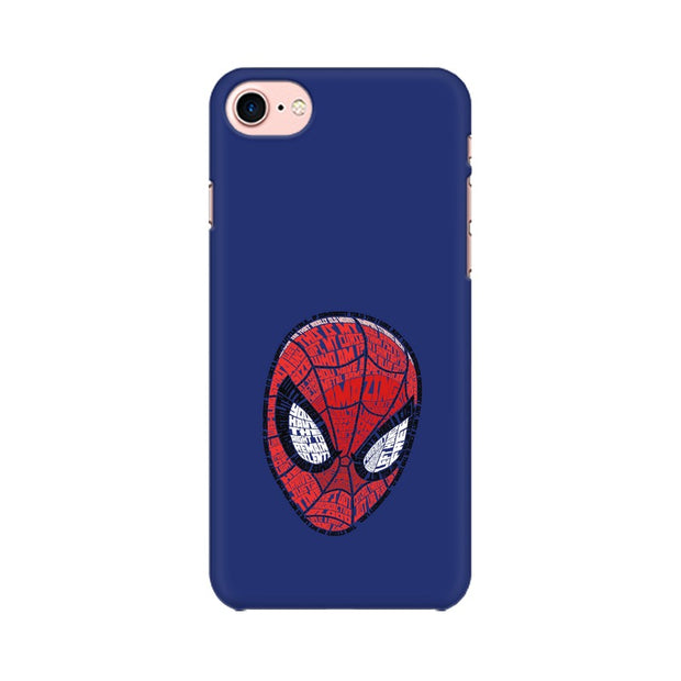 Apple iPhone 7 Spider Man Graphic Fan Art Phone Cover & Case
