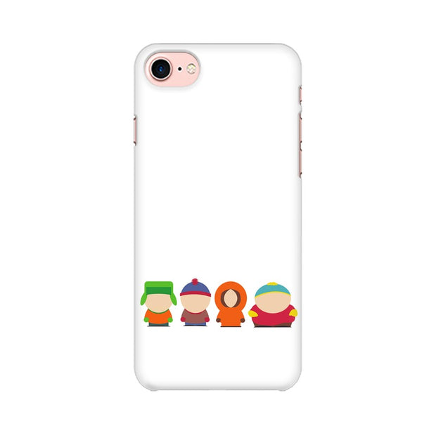 Apple iPhone 8 South Park Minimal Phone Cover & Case