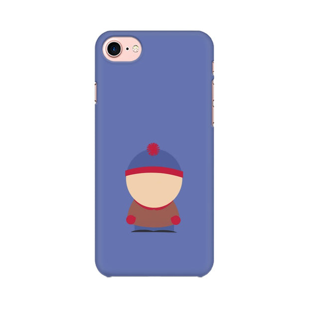 Apple iPhone 8 Stan Marsh Minimal South Park Phone Cover & Case