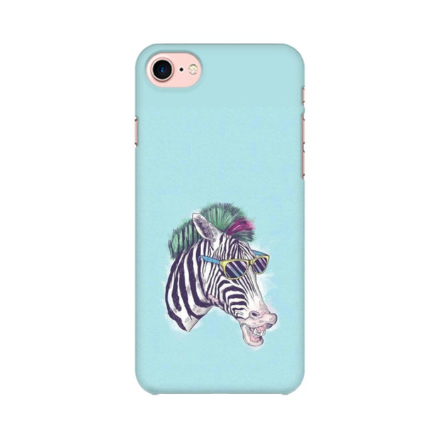 Apple iPhone 8 The Zebra Style Cool Phone Cover & Case