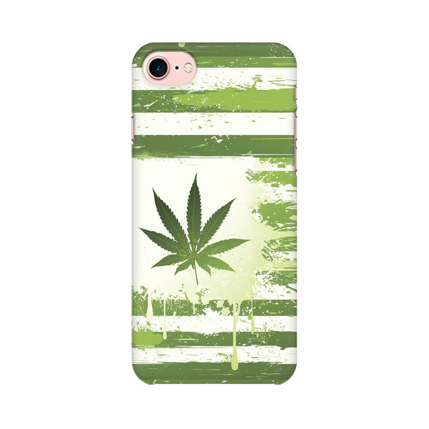 Apple iPhone 8 Weed Flag  Phone Cover & Case