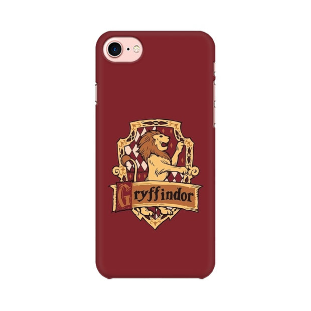 Apple iPhone 8 Gryffindor House Crest Harry Potter Phone Cover & Case