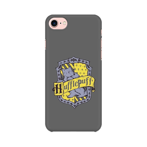 Apple iPhone 8 Hufflepuff House Crest Harry Potter Phone Cover & Case