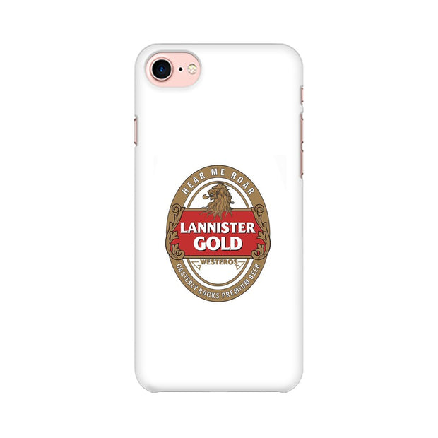 Apple iPhone 8 Lannister Gold Game Of Thrones Cool Phone Cover & Case