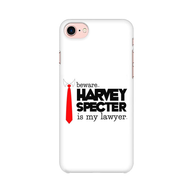 Apple iPhone 8 Harvey Spectre Is My Lawyer Suits Phone Cover & Case