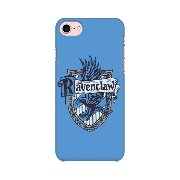 Apple iPhone 8 Ravenclaw House Crest Harry Potter Phone Cover & Case