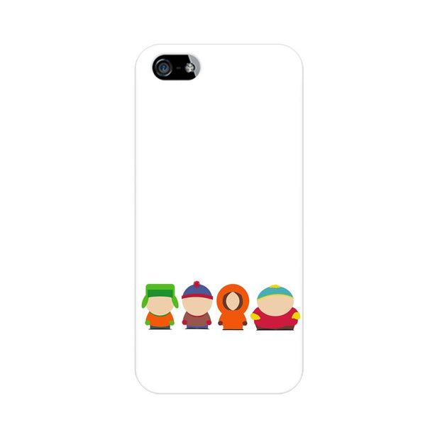 Apple iPhone SE South Park Minimal Phone Cover & Case