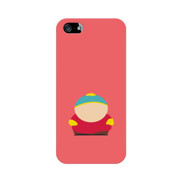 Apple iPhone SE Eric Cartman Minimal South Park Phone Cover & Case