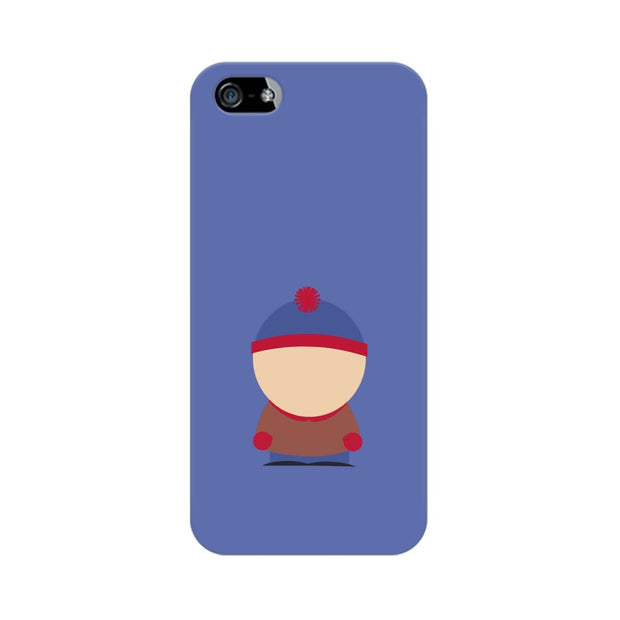 Apple iPhone SE Stan Marsh Minimal South Park Phone Cover & Case