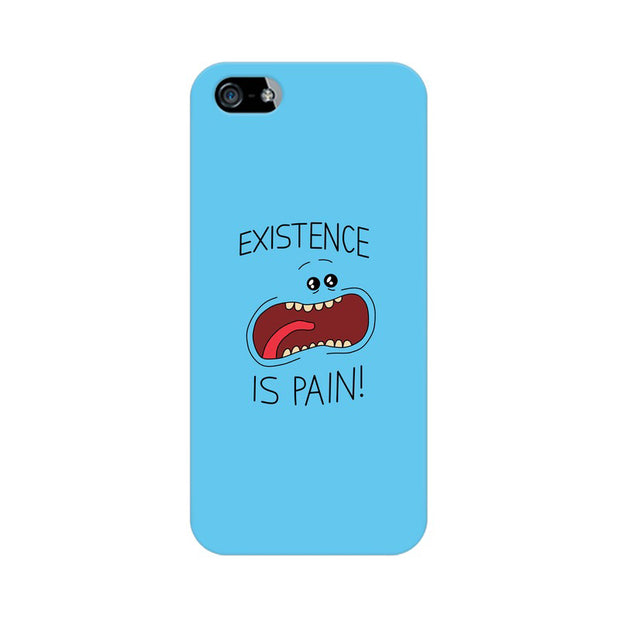 Apple iPhone SE Existence Is Pain Mr Meeseeks Rick & Morty Phone Cover & Case