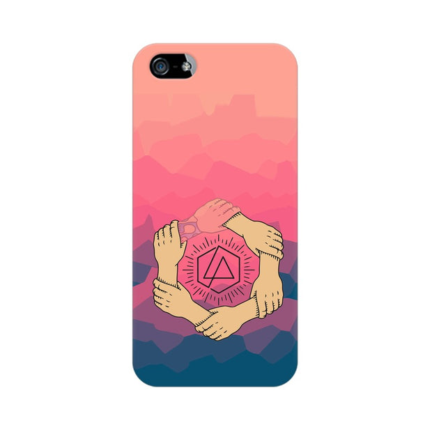 Apple iPhone SE Linkin Park Logo Chester Tribute Phone Cover & Case